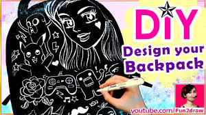 How To Design Your Backpack How To Design A Backpack Easy Diy Art