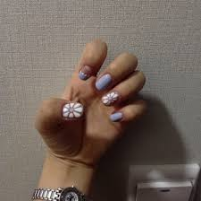 Nail Show Design Flower Nail Art With Toothpick Yerang Medium