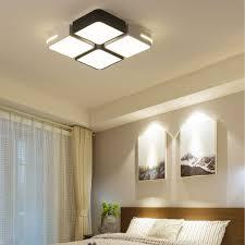 Bedroom Ceiling Lights 48w Acrylic Led Ceiling Light Pendant Chandelier Lamp Bedroom Dimmable Fixture Decor 220v