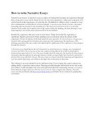 write a essay how to write an essay at com org how to write a personal narrative essay for college