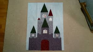 Fairy Tale Castle Pattern Now Available! | Blossom Heart Quilts & Pirate Castle Adamdwight.com
