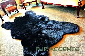 fake bear skin rug rugs with head for faux fur nursery fake bear skin rug faux rugs for
