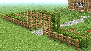 how to make a stone fence in minecraft. MINECRAFT How To Build Little Wooden Fence YouTube Minecraft Gate Recipe Hi-Res Wallpaper Make A Stone In
