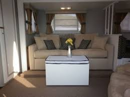 Image Makeover Rv Interior Decor Living Area Second Couch Doityourselfrv 16 Year Old Jayco Travel Trailer Gets Interior Decor Makeover