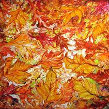 fall paintings art autumn abstract by artist marcia baldwin