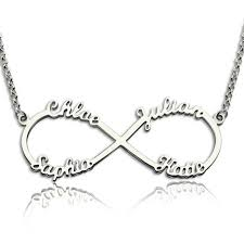 personalized necklace 925 sterling silver letter necklaces pendants unique birthday jewelry women gift ne101369 myfashion