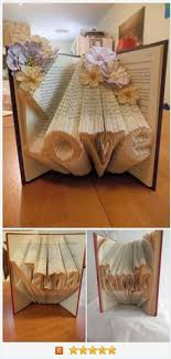 custom folded book art personalized any word special occasion anniversary birthday you choose s