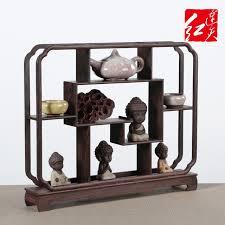 Wooden Display Stands For Figurines Wenge Solid Wood Desk Display Stand Shelf Home Living Room Desktop 80