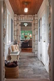 entrance hall pendant lighting. entry hall design rustic with pendant light stone floor wood ceiling entrance lighting g