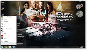 Computar Themes Fast And Furious Theme For Windows 7