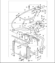 coolant hose routing question rennlist discussion forums being connected to is much larger than the hose that is going to it something isn t adding up the line is number 45 in this diagram any suggestions