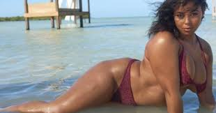 plus size models sports illustrated sports illustrated got its first black plus size swimsuit model and