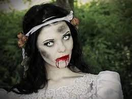how to apply makeup to look like a zombie bride zombie bride 1