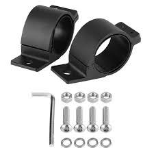 Led Light Bar Clamps Amazon Com 1 Pair Led Light Bar Mounting Bracket Kit