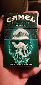 Camel Crush Menthol Lights Dope Camel Crush Menthol Pack Design Cigarettes