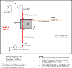 dc relay wiring diagram for fog lights wiring diagram autovehicle matt u0027s guide to wiring accessory lights relays u0026 switches rangermatt