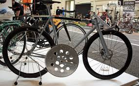 one gear one goal bike is good to 100 mph builder says the