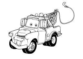 Kleurplaat Cars Pixar 2435