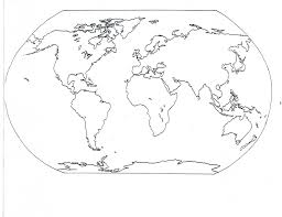 Blank World Map Classical Conversations World Map Coloring Page
