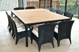 round table for 10 outdoor dining table for how to build a rustic outdoor dining table