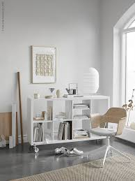 Ikea office inspiration Storage Designed To Work In Different Living Areas It Also Makes Great Mobile Storage Unit For The Home Office As Demonstrated In These Gorgeous Images Sweet Revenge Sugar Tdc Shelf Styling Inspiration By Sundling Kickén For Ikea