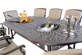 dining table with 10 chairs. Kensington Fire Ice-Oval-10-chairs Dining Table With 10 Chairs
