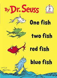 one fish two fish red fish blue fish beginner books r by