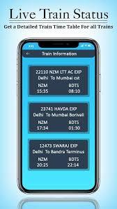 Live Train Running Status Pnr Status 1 2 Apk Download