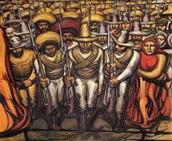 david alfaro siqueiros revolution the people in arms detail