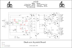 4qd tec joystick interface circuits Circuit Board Schematics dual axis circuit showing changes for double independent board