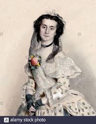 1852 , VIENNA , AUSTRIA : The celebrathed ballerina ELISA ALBERT ...