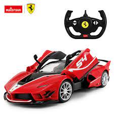 Rastar 1 14 Scale Electric Vehicle Ferrari Remote Control Toy Rc Car For Kids View Rc Rally Cars For Sale Rastar X Ferrari Product Details From Rastar Group On Alibaba Com