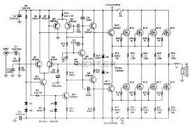 audio circuit diagram the wiring diagram circuits > 400 w mosfet audio amplifier circuit using irfp448 circuit diagram