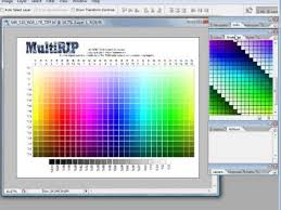 Photoshop Color Chart Using The Multirip Rgb Color Chart Swatches Photoshop