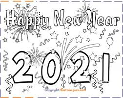 For kids new year partiesb0ee. New Years 2021 Coloring Page For Kids Free Kids Coloring Pages Printable