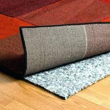 area rug with non slip backing skid spray anti mesmerizing base pad cushion