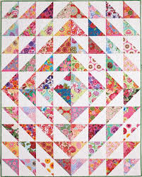 Image result for quilt pattern large triangles