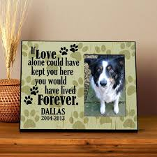 pet memorial picture frames personalized dog frame