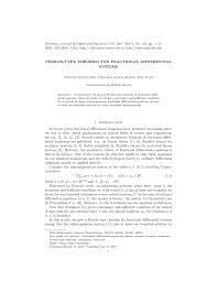 pdf perron type theorem for fractional diffeial systems