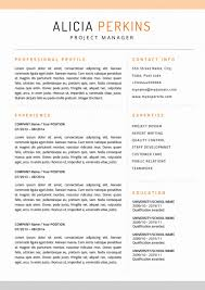 99 Download Free Resume Templates For Mac Free Resume Template