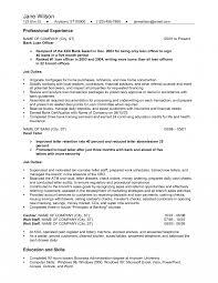Resume Cv Cover Letter Loan Officer Samples Of Free Cash Example