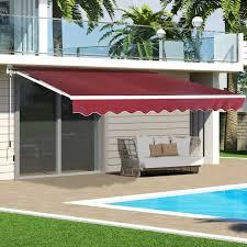patio sun shade sail sunshade fabric sunscreen ideas garden awning canopy wall gazebo pergola formidable
