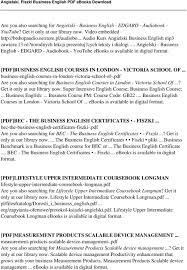 Angielski. Fiszki Business English - Pdf
