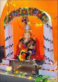 33 best ganpati decoration images