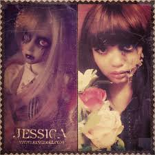 you want to look scary but still want to look pretty hahhaaa xd just try this one this look is inspired by bjd ringdoll jessica dark side