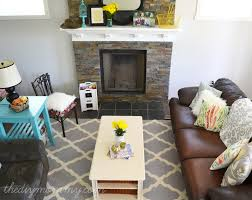 Living Room Diy Our Rustic Glam Farmhouse Living Room Our Diy House The Diy
