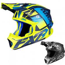 Fxr Racing F19 Blade 2 0 Carbon Race Division Mens Snowmobile Helmets