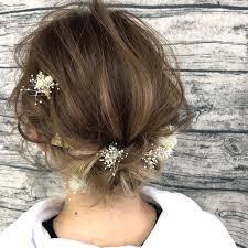 ショートボブも結婚式のヘアアレンジは華やかにショートボブ特集