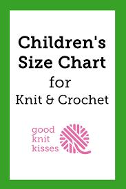 Child Sizes Goodknit Kisses