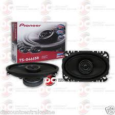 pioneer 4x6 speakers. item 5 pioneer ts-g4645r 4x6-inch car audio 2-way coaxial speakers (pair) 4 x 6\ pioneer 4x6 speakers